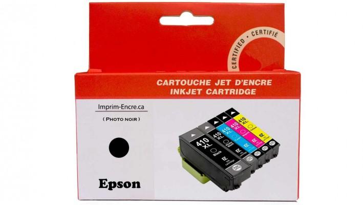 Encre Epson T410120 XL photo noire compatible de très haute qualité - 650 pages