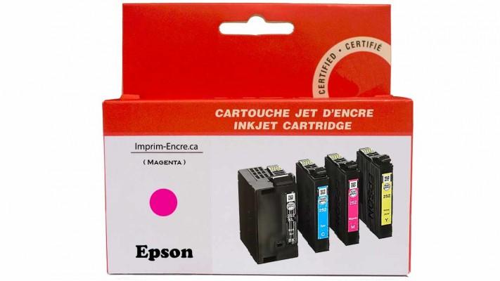 Encre Epson T252XL320 magenta compatible de très haute qualité - 1,100 pages
