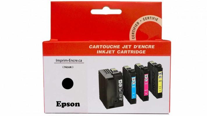 Encre Epson T252XL120 noire compatible de très haute qualité - 1,100 pages