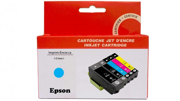Encre Epson T273XL220 cyan compatible de très haute qualité - 650 pages