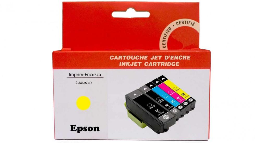 Encre Epson T273XL420 jaune compatible de très haute qualité - 650 pages