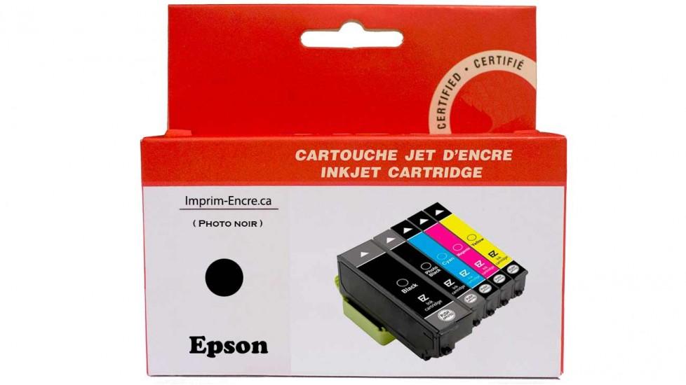 Encre Epson T273XL120 noire photo compatible de très haute qualité - 500 pages