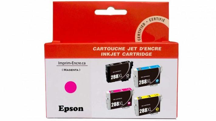 Encre Epson T288XL320 magenta compatible de très haute qualité - 450 pages