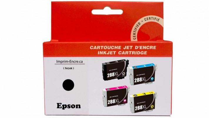 Encre Epson T288XL120 noire compatible de très haute qualité - 500 pages