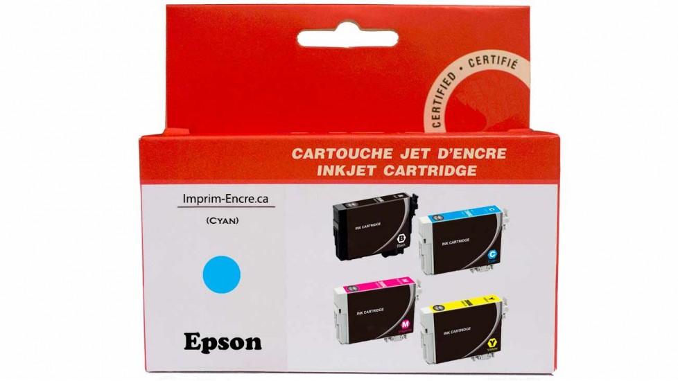 Encre Epson T220XL220 cyan compatible de très haute qualité - 450 pages