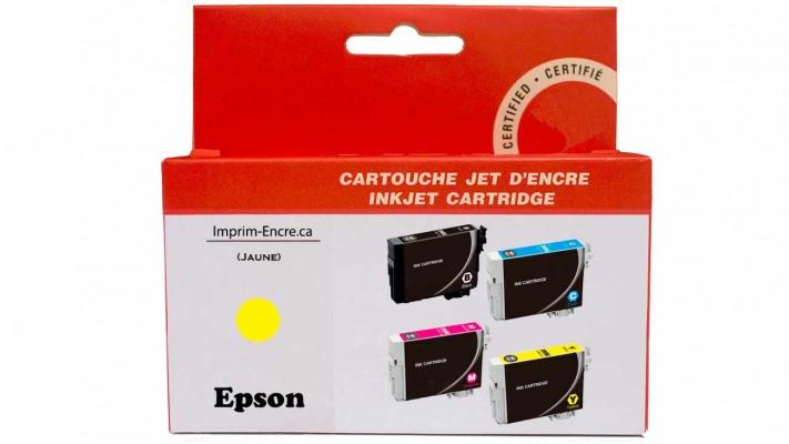 Encre Epson T220XL420 jaune compatible de très haute qualité - 450 pages