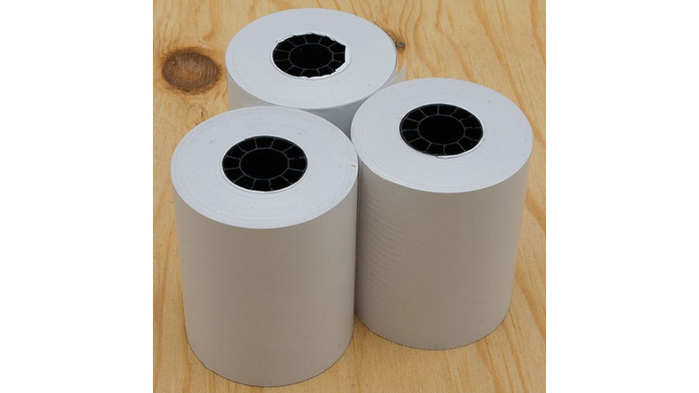 Papier thermique -  2 1/4 X 80, boîte de 100