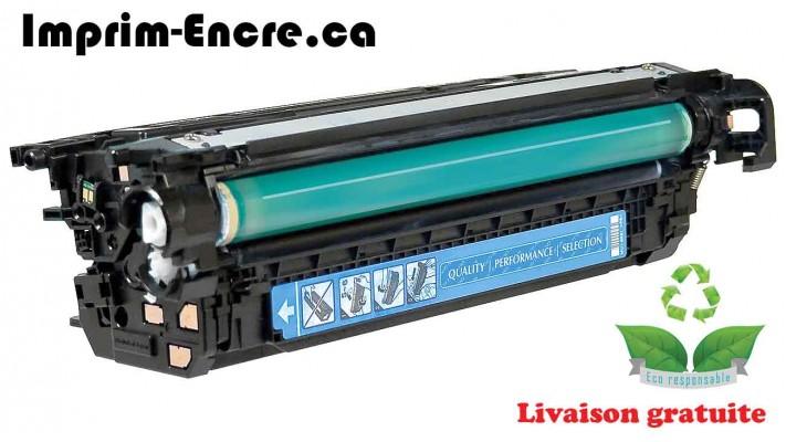 HP toner CF031A ( 646A ) cyan originale ( OEM ) remise à neuf de très haute qualité - 12,500 pages