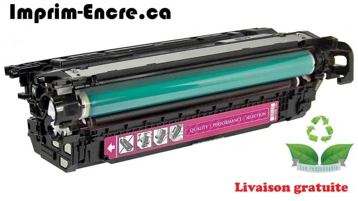 HP toner CF033A ( 646A ) magenta originale ( OEM ) remise à neuf de très haute qualité - 12,500 pages