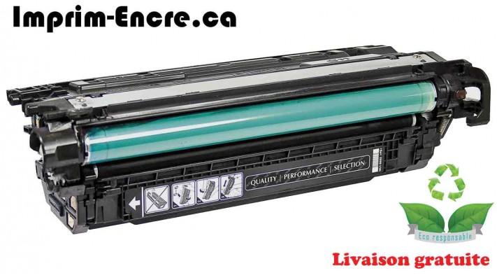 HP toner CE264X ( 646X ) noir originale ( OEM ) remise à neuf de très haute qualité - 17,000 pages