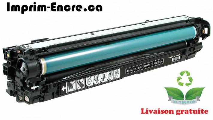 HP toner CE270A ( 650A ) noir originale ( OEM ) remise à neuf de très haute qualité - 13,500 pages
