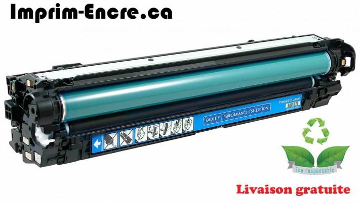 HP toner CE271A ( 650A ) cyan originale ( OEM ) remise à neuf de très haute qualité - 15,000 pages