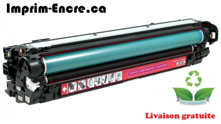 HP toner CE273A ( 650A ) magenta originale ( OEM ) remise à neuf de très haute qualité - 15,000 pages