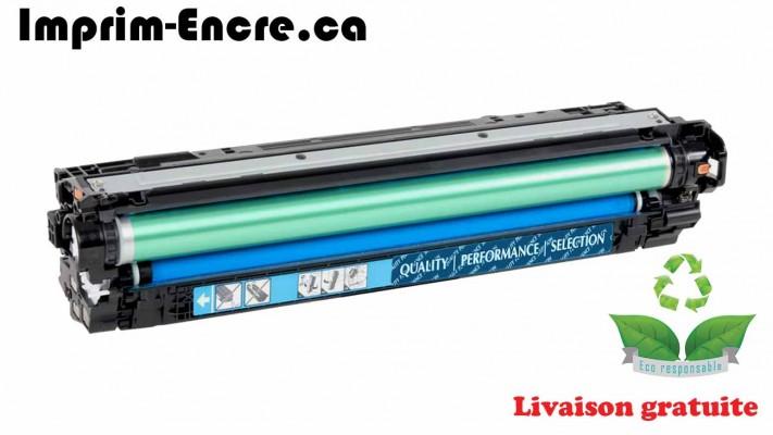 HP toner CE341A ( 651A ) cyan originale ( OEM ) remise à neuf de très haute qualité - 16,000 pages