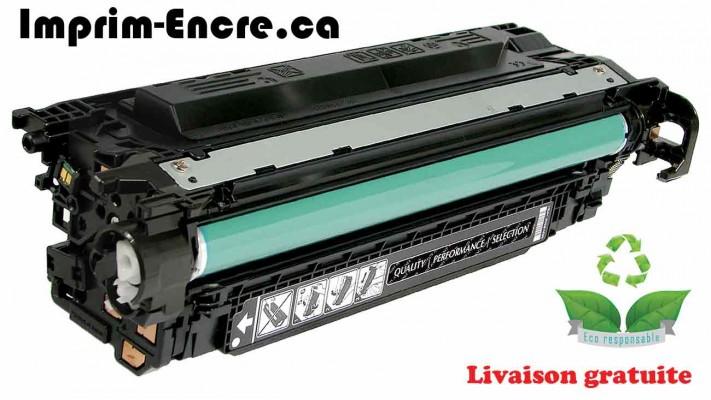 HP toner CE400X ( 507X ) noire originale ( OEM ) remise à neuf de très haute qualité - 11,000 pages