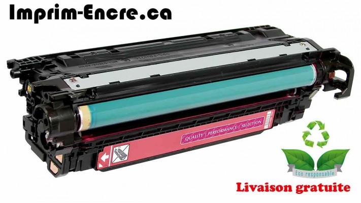 HP toner CE403A ( 507A ) magenta originale ( OEM ) remise à neuf de très haute qualité - 6,000 pages
