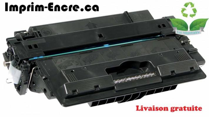 HP toner CF214A ( 14A ) noire originale ( OEM ) remise à neuf de très haute qualité - 10,000 pages