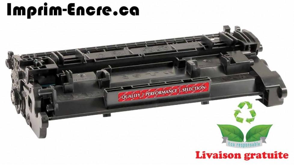 HP toner CF226A MICR ( 26A ) noire originale ( OEM ) remise à neuf de très haute qualité - 3,100 pages