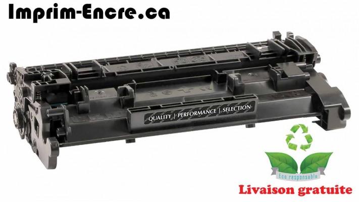 HP toner CF226A ( 26A ) noire originale ( OEM ) remise à neuf de très haute qualité - 3,100 pages