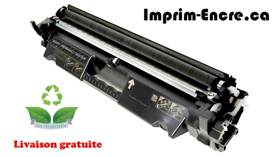 HP toner CF230X ( 30X ) noire originale ( OEM ) remise à neuf de très haute qualité - 3,500 pages