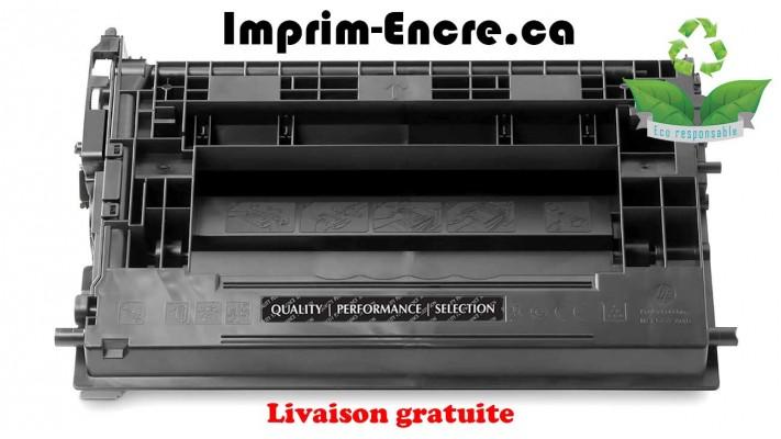 HP toner CF237A ( 37A ) noire originale ( OEM ) remise à neuf de très haute qualité - 11,000 pages