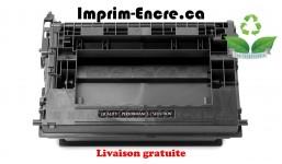 HP toner CF237X ( 37X ) noire originale ( OEM ) remise à neuf de très haute qualité - 25,000 pages