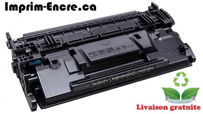 HP toner CF287A ( 87A ) noire originale ( OEM ) remise à neuf de très haute qualité - 9,000 pages