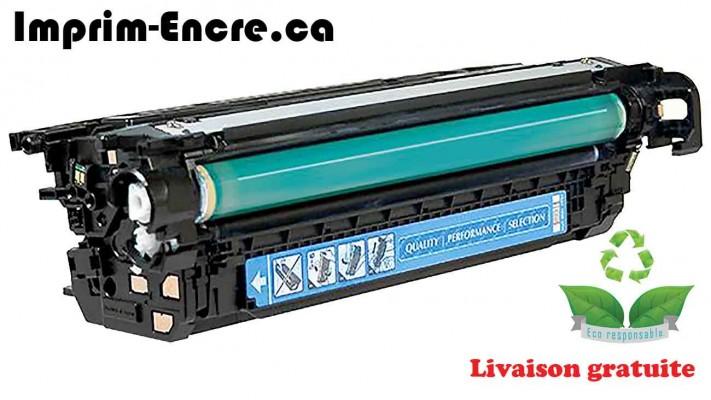 HP toner CF331A ( 654A ) cyan originale ( OEM ) remise à neuf de très haute qualité - 15,000 pages
