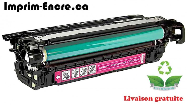 HP toner CF333A ( 654A ) magenta originale ( OEM ) remise à neuf de très haute qualité - 15,000 pages