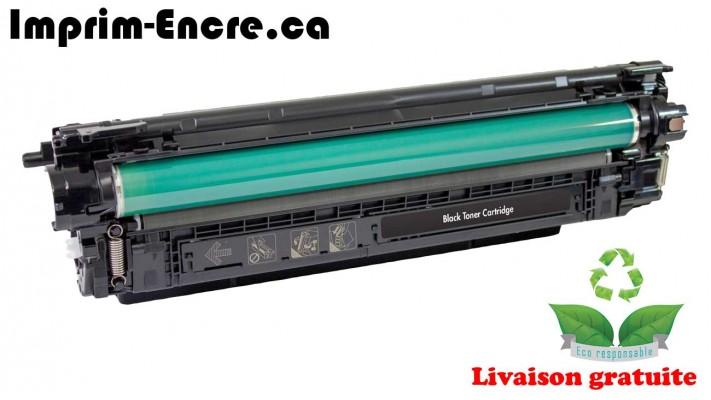 HP toner CF360X ( 508X ) noire originale ( OEM ) remise à neuf de très haute qualité - 12,500 pages