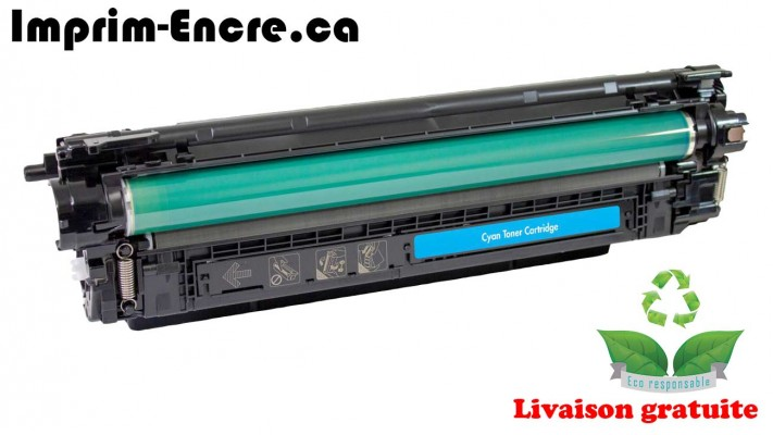 HP toner CF361A ( 508A ) cyan originale ( OEM ) remise à neuf de très haute qualité - 5,000 pages