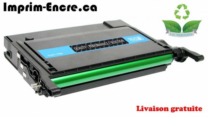 Samsung toner CLP-C660B / CLP-C660A cyan originale ( OEM ) remise à neuf de très haute qualité - 5,000 pages
