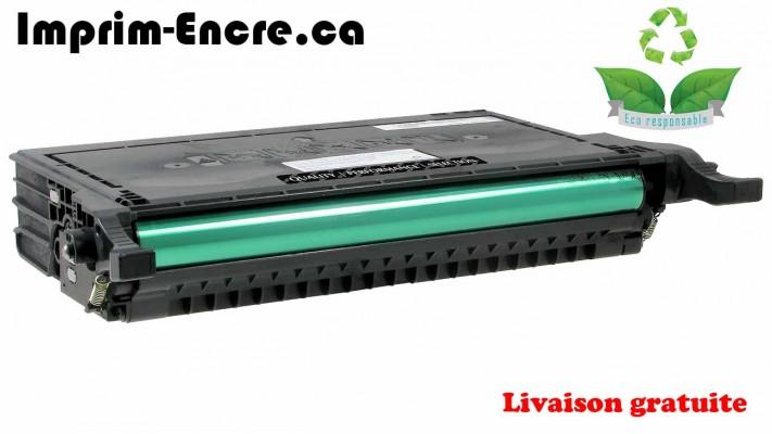 Samsung toner CLP-K660B / CLP-K660A noire originale ( OEM ) remise à neuf de très haute qualité - 5,500 pages