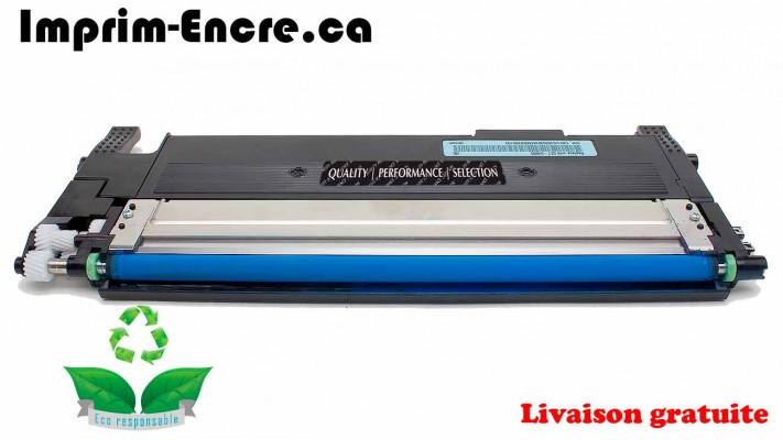 Samsung toner CLT-C406S cyan originale ( OEM ) remise à neuf de très haute qualité - 1,000 pages
