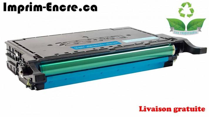 Samsung toner CLT-C508L / CLT-C508S cyan originale ( OEM ) remise à neuf de très haute qualité - 4,000 pages